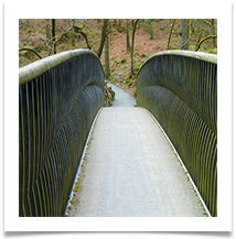 02 - Footbridge over a beck - Rob Sparkes