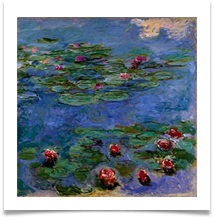 3 - Monet - Water Lilies 920x920 - Chris Beesley