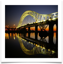 4_Runcorn Widnes Jubilee Bridge - Chris Beesley
