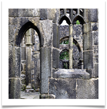 Arches at Heptonstall Abbey - Gilli Bruce