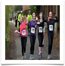 Family Outing - Lymm 10k - Rigby, Bill