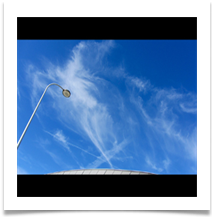 Leaning By A Lamppost Looking Up - Chris Berg