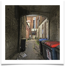 Looking Up The Alley - John North
