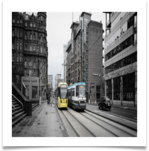 Manchester trams - Bill Rigby