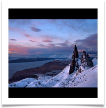 Sunrise at The Old Man of Storr - Chris Beesley